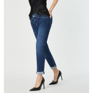 Mavi Ada Boyfriend Jeans Mid Rise Feather Blue